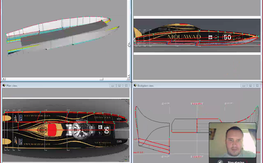 Custom Boat Design. 3d CAD File + Wood Frame kit + full sheeting