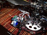 Name: 3 diodes up front to tail motor wires Bird 1.jpg