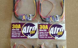 4 New Afro 30 Amp Esc