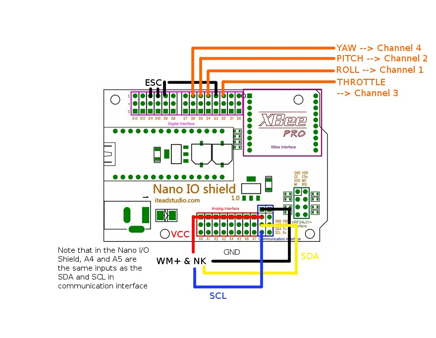 wiring diagram esc and arduino   30 wiring diagram images
