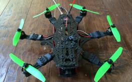 FoxtechFPV Grasshopper Mini Hex 300mm ARF/BNF