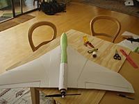 Name: Foam fuselage in place (ignore the rear fuse - that is the next step).jpg