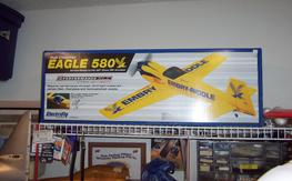 "Great Planes Eagle 580 EP ARF 50"","