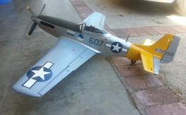 Durafly 1100mm P-51 PNP