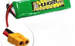 Hunger 2650MAH 2S 40C MAX 80C 7.4V NANO TECH LIPO x 4
