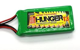 Hunger 2s 1000mah and 1300Mah lipos  x 7