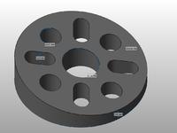 Name: TMMv2m.png Views: 296 Size: 55.8 KB Description: Measurements. Compatible with M2 and M3 Motors Bolts