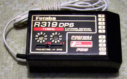 Futaba FP-R319DPS 9-channel Synthesized Receiver PCM1024