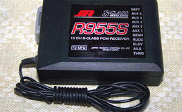 JR R955S- SPCM 10ch receiver with your choice of one 72mhz receiver crystal