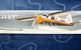 "Flyzone DHC-2 Beaver Select Scale Tx-R 59.5"" : BNIB"