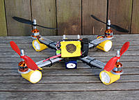 Name: Wiffle bat feet for Armattan quadcopter.jpg