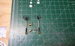 BLACK FRIDAY SPECIAL!  5.8 GHz Cloverleaf / Skew Planar Antenna Set