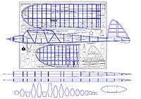 Name: Starduster working drawing.jpg Views: 35 Size: 280.4 KB Description: CAD trace of original plan. This will be used to build from, and includes my many modifications. Main changes are basically whatever is shown outside the base plan outline, and include two fuselage plan views (none were shown) plus a set of formers.