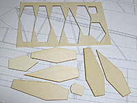 """Name: 5.JPG Views: 17 Size: 267.4 KB Description: 5. Load-bearing fuselage formers (bulkheads) cut from 1/8"""" liteply. Other formers are balsa, motor mount firewall is 1/8"""" aircraft ply."""