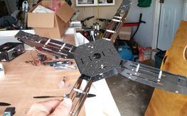 Carbon Fiber Hoverthings 450 Frame