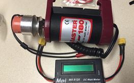 Torqmaster 180 and MPI watt meter