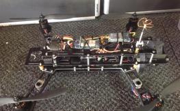 QAV400 frame, Sunny Sky motors, ESCs, etc