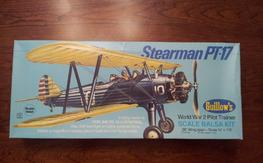 "Stearman PT-17 kit, 28"" wingspan"