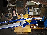 Name: Stef and plane 9-5.jpg