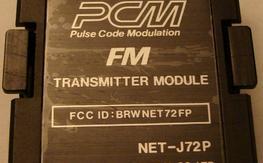 72MHz ch59 JR tx module