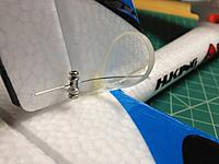 Name: IMG_0322.jpg Views: 98 Size: 288.7 KB Description: To fix the wire flex, a small zip tie is employed.