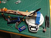 Name: IMG_0343.jpg Views: 99 Size: 205.4 KB Description: The possibly reasonably accurate-ish test rig to somewhat get close to a thrust number.  Give or take...