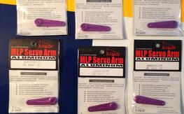 NIP 6pcs AirWild MLP Servo Arm for JR Servos