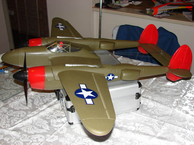 GWS P-38... stock GWS motors