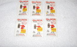 6 ea NIP Glo Devil glow Plugs