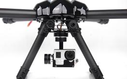 3-Axis GoPro Gimbal (X-Cam A10-3H)