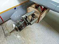 Name: P1010575.jpg Views: 48 Size: 73.2 KB Description: I am using two Turnigy G15's with Plush 60 amp ESC's mounted in the nacelles.