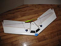 Name: osb2 paint 008.jpg Views: 1539 Size: 94.4 KB Description: OSW v1 complete with nose weights and wing tip plates