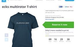 Multirotor Pilot T shirt $19.99