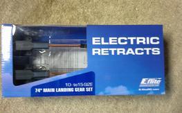 NIB 10-15 74 Degree FW-190 Electric Retracts [EFLG115]