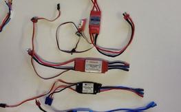 Various ESC's for sale - 4 of them $22 each
