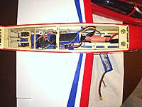 Name: photo 1.JPG Views: 26 Size: 583.9 KB Description: Servos moved back, battery over wing tube.