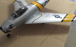 Eflite F-86  Dont make Kits like this anymore!