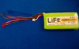 6.6V Life RX Batt