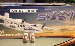 Twinstar 2/ brushless motors NIB