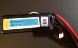 3 new 5100mah 3s lipo packs