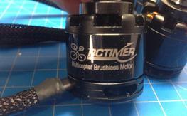 4 New RCTimer 2814-810kv Motors with ESCs