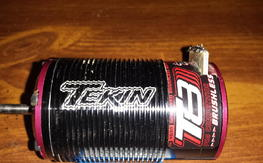 tekin t8 brushless motor 1/8 scale