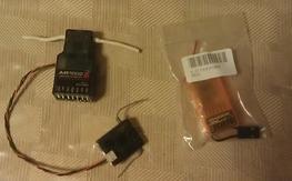 Spektrum AR7000 w/SAT(used) & Orange 610 RX (new in package