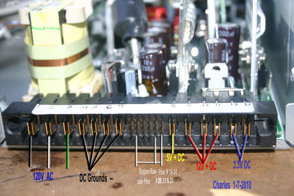 ESP114 server power supply to PC power supply - Hewlett Packard ...