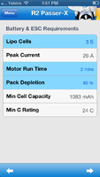 Name: EASpec screenshot - R2 Hobbies Passer-X - battery and ESC requirements.png