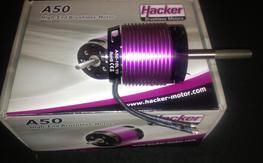 NIB Hacker A50-10L turnado V3 10 pole motor