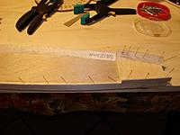 Name: DSC01271 (Medium).JPG Views: 46 Size: 110.4 KB Description: After sides are cutted I add the triangular stock, the 3/16 front doubler and the 1/64 birch plywood side doubler. Sides are glued with epoxy the other part with Titebond