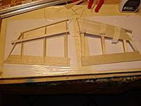 Name: DSC01282 (Medium).JPG Views: 36 Size: 133.7 KB Description: Building the tip. On the left tip you can see the structure. The right one is covered and front leading edge added.