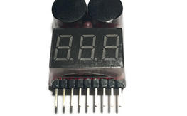 1S-8S Low Voltage Alarm / Battery Checker - FREE US Shipping