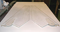Name: wings w top panels - trailing edges.jpg Views: 144 Size: 111.4 KB Description: Wings with top panels.  Trailing edges.